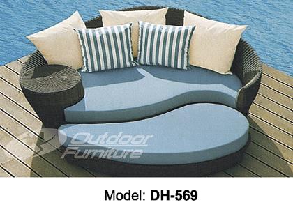 Лежак-диван с дополнительным модулем