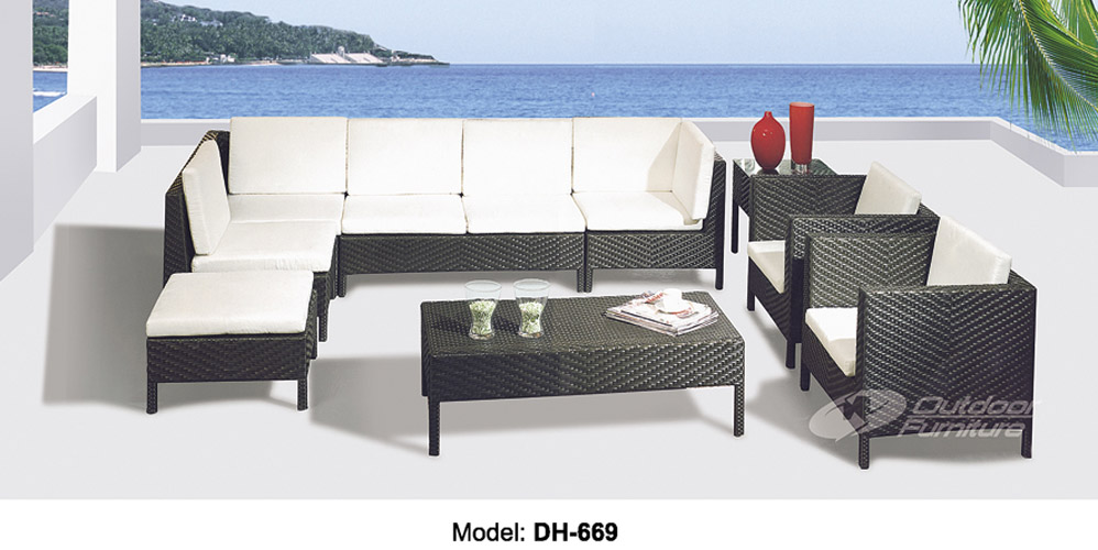 Садовая мебель из искусственного ротанга DH-669