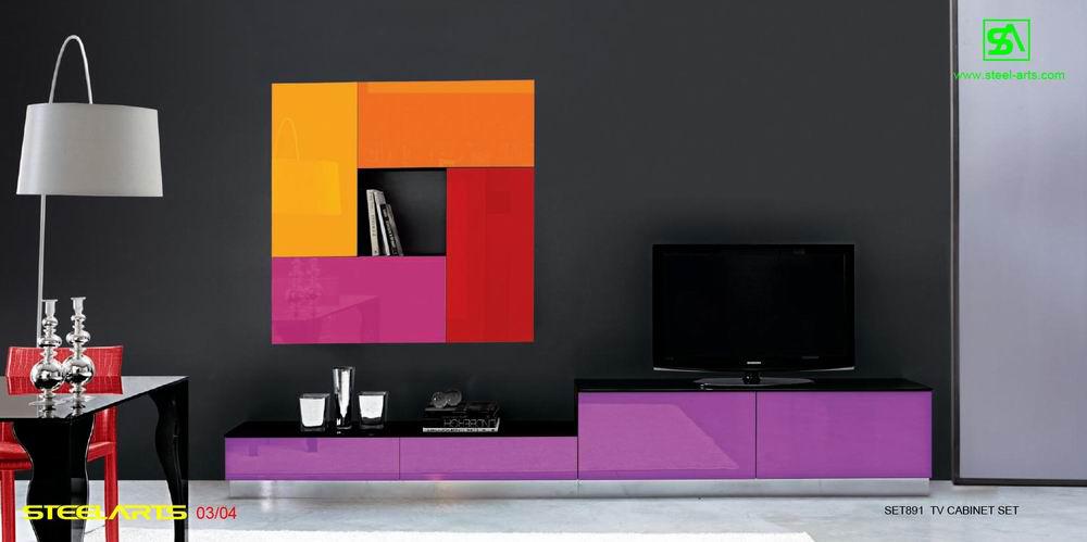 Дизайнерская стенка для гостиной